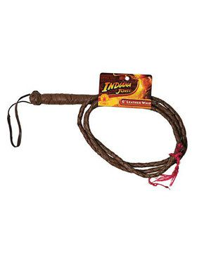 Indiana Jones Tm 6 Leather Whip