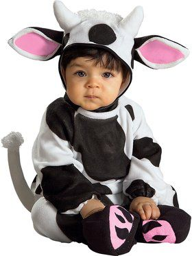 Cozy Cow Infant Costume