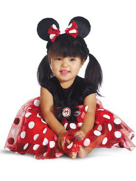 Red Minnie Mouse Disney Infant Costume