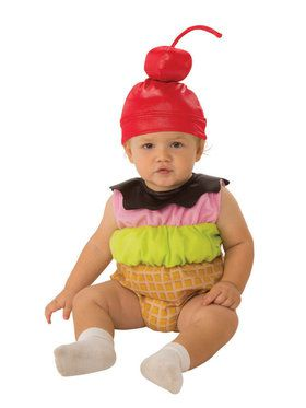 Infant Ice Cream Baby Costume