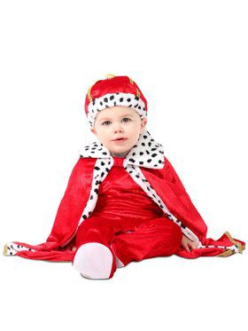 Infant Regaly Royalty King Costume