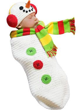 Infant Snow Baby Bunting Costume