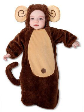 Infant Sweet Little Monkey Costume