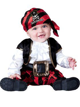 Infant Toddler Capn Stinker Pirate Cost
