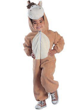 Infant Toddler Courduroy Horse Costume