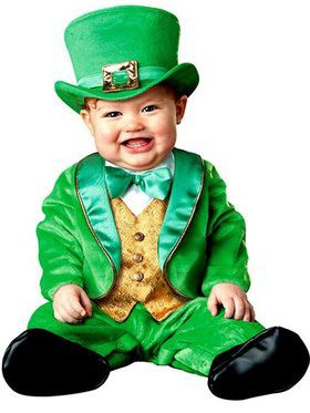Infant Toddler Lil Leprechaun Costume