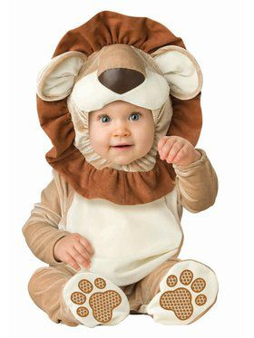 Infant Toddler Lovable Lion Costume