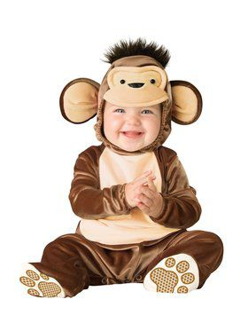 Infant Toddler Mischievous Monkey Costum