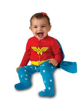 DC Wonder Woman Infant Romper Costume