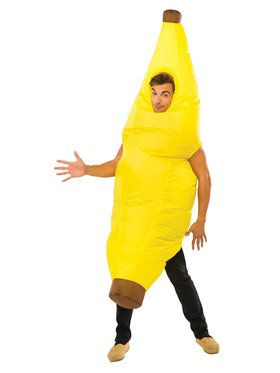 Adult Inflatable Banana Costume