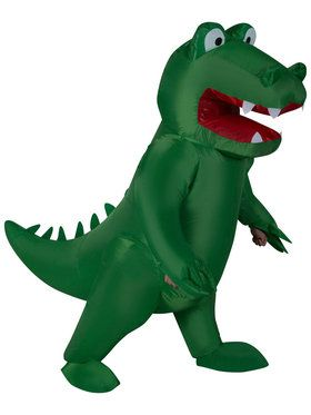 Inflatable Alligator Adult Costume