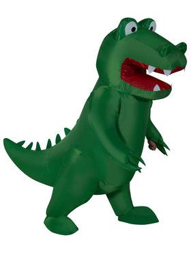 Inflatable Alligator Child Costume