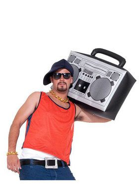 Boom Box Inflatable Accessory