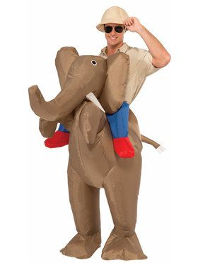 Inflatable Elephant Adult Costume
