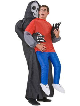 Inflatable Grim Reaper Victim Adult Costume