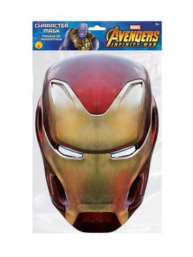 Iron Man Character Mask