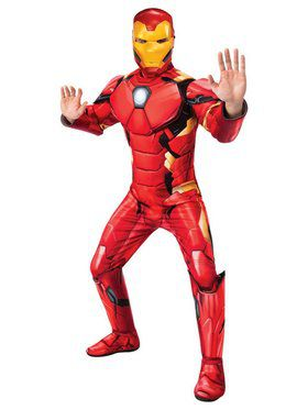Mens Deluxe Iron Man Costume