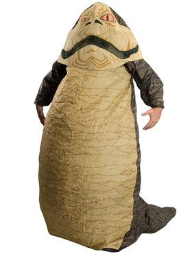 Inflatable Adult Jabba The Hutt Star Wars Costume