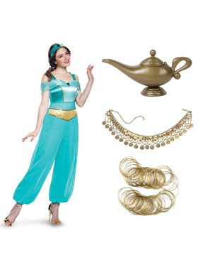 Jasmine Deluxe Adult Costume Kit