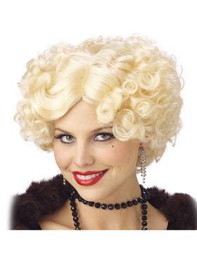Jazz Baby Wig Blonde Adult One Size