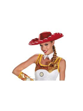 Jessie Glam Bow and Hat Womens Toy Story Kit