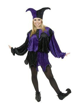 Jester Plus Adult Costume