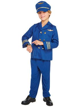Jet Set Pilot Child Costume  sc 1 st  BuyCostumes.com & Astronaut and Pilot Costumes - Adult and Kids Halloween Costumes ...