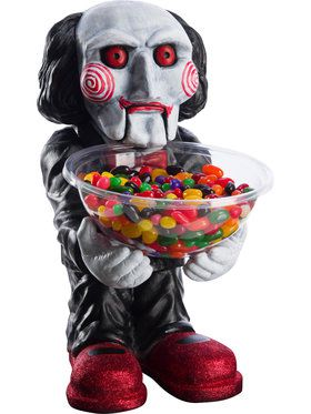 Saw 8: Jigsaw Billy Candy Bowl Holder