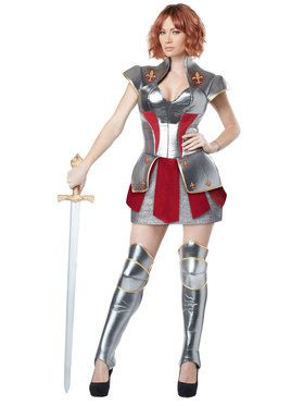 Joan of Arc Adult Costume Small