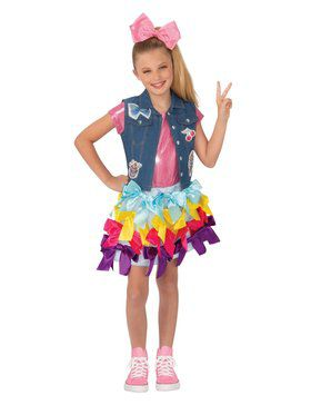 Jojo Siwa Girls Bow Dress Costume