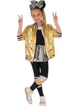 Jojo Siwa Girlu0027s Dancer Outfit Costume  sc 1 st  BuyCostumes.com & Girlu0027s Rock Stars and Musicians Costumes - Girls Halloween Costumes ...