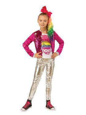 "Jojo Siwa Jojo ""Hold The Drama"" Child Costume"