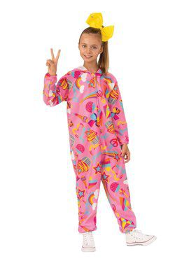 Jojo Siwa Jojo Onesie Pink Child Costume
