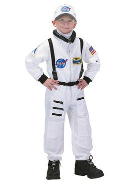 Astronaut (White) Child Costume