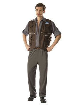 Jurassic World: Adult Deluxe Owen Costume Standard