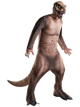 Jurassic World T-Rex Costume for Adults