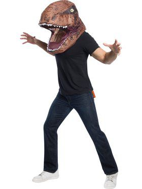 Jurassic World Adult T - Rex Inflatable Air Head