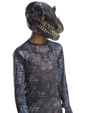 Jurassic World: Fallen Kingdom Baryonyx Movable Jaw Child 2018 Halloween Masks