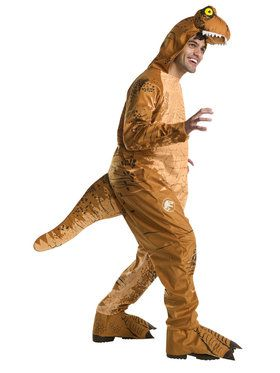Jurassic World: Fallen Kingdom Mens Oversized T-Rex Jumpsuit