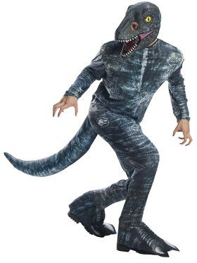 Jurassic World: Fallen Kingdom Mens Velociraptor Costume
