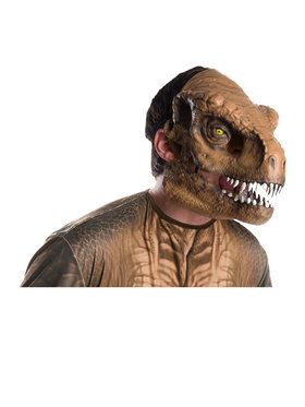 Jurassic World: Fallen Kingdom Tyrannosaurus Rex Movable Jaw Adult 2018 Halloween Masks