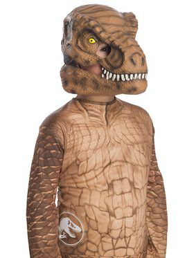 Jurassic World: Fallen Kingdom Tyrannosaurus Rex Movable Jaw Child 2018 Halloween Masks