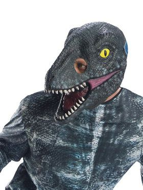 Jurassic World: Fallen Kingdom Velociraptor Adult 3/4 2018 Halloween Masks