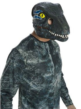 Jurassic World: Fallen Kingdom Velociraptor Movable Jaw Adult 2018 Halloween Masks