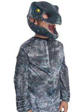 Jurassic World: Fallen Kingdom Velociraptor Movable Jaw Child 2018 Halloween Masks