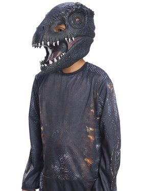 Jurassic World: Fallen Kingdom Villain Dinosaur Adult 3/4 2018 Halloween Masks