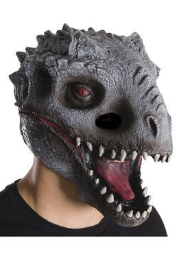 Jurassic World 3/4 Indominus Rex 2018 Halloween Masks for Kids