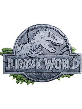 Jurassic World Jurassic World Vacuform Sign