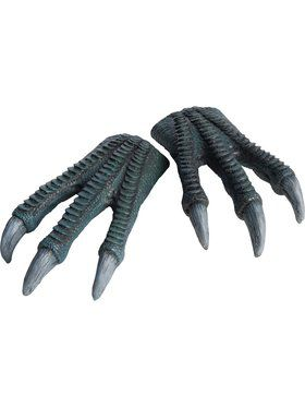 Jurassic World Kids Blue Latex Hands