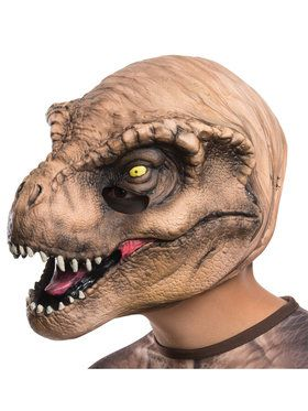 Jurassic World T-Rex 3/4 2018 Halloween Masks for Kids